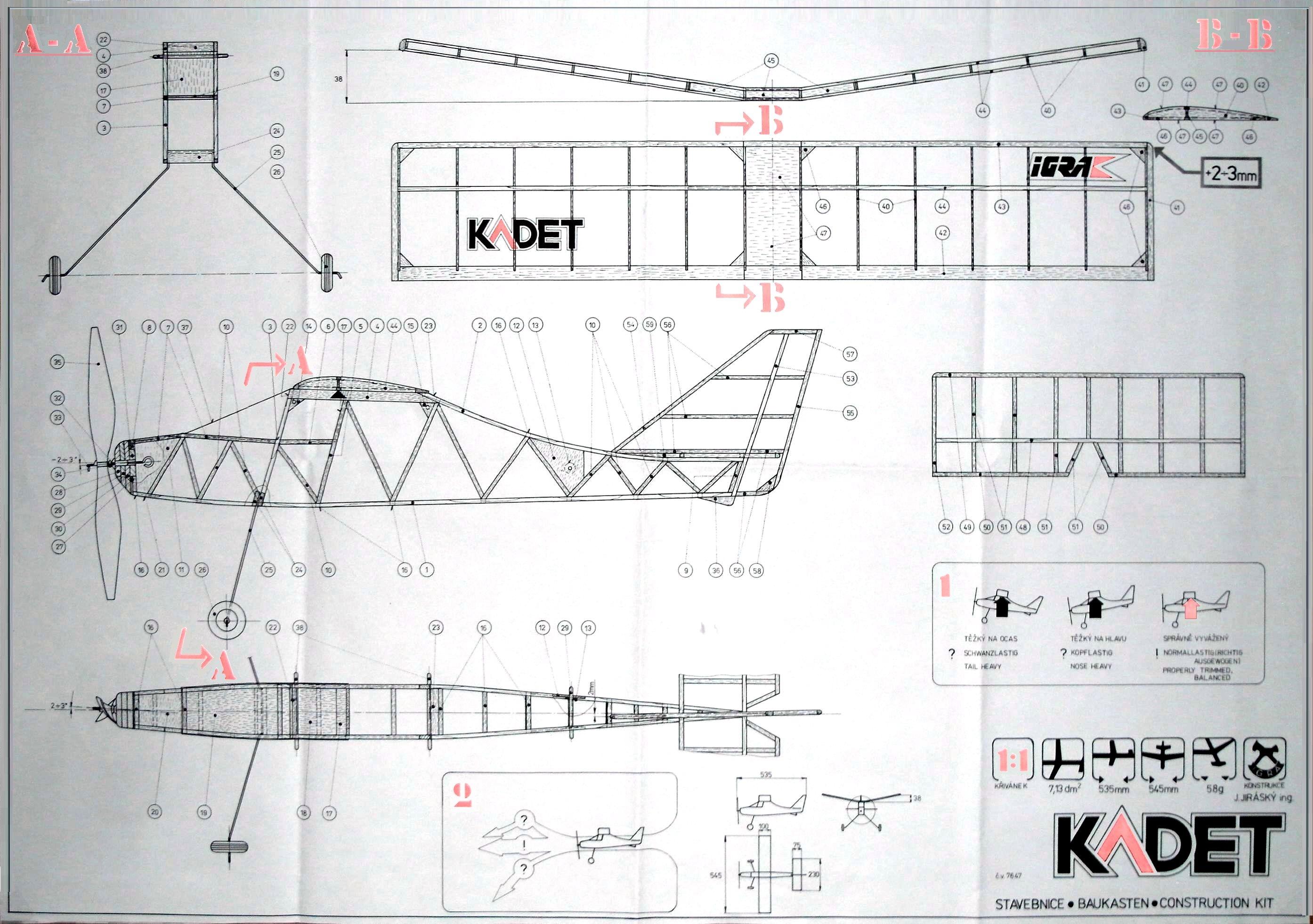 Model IGRA Kadet